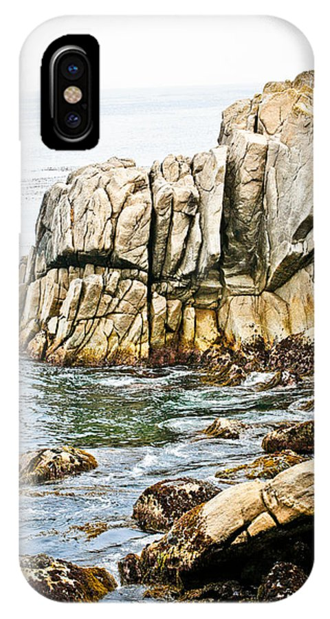 Pebble Beach IPhone Case featuring the photograph Shores Of Pebble Beach by Marilyn Hunt