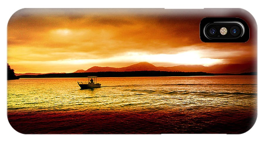 Landscape IPhone X Case featuring the photograph Shores Of The Soul by Holly Kempe