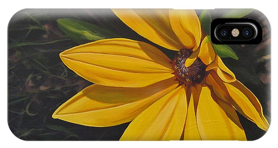 Wildflower IPhone X / XS Case featuring the painting Sign Of Summer by Hunter Jay