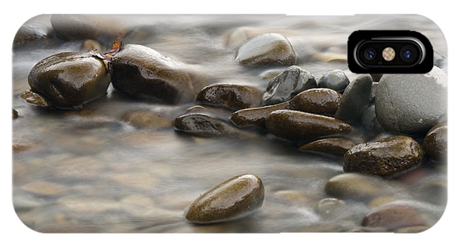 River IPhone X Case featuring the photograph Silk River by Chad Davis