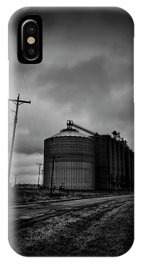 Silos IPhone X Case featuring the photograph Silos by David Jilek