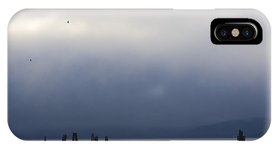Blue IPhone Case featuring the photograph Silver And Blue by Idaho Scenic Images Linda Lantzy