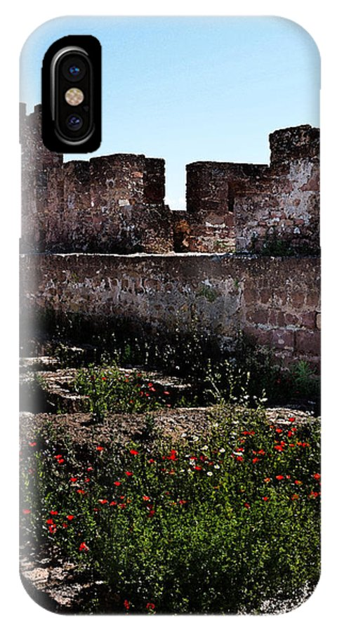 Silves IPhone X Case featuring the photograph Silves Castle by Louise Heusinkveld