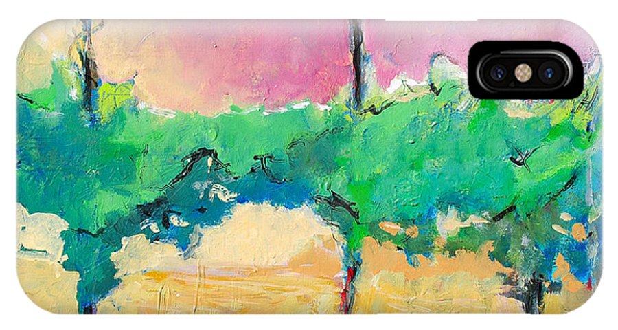 Vineyard IPhone Case featuring the painting Simpatico by Kurt Hausmann