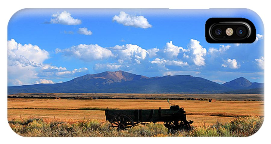Wagon IPhone X Case featuring the photograph Simple Times by Karl Unertl