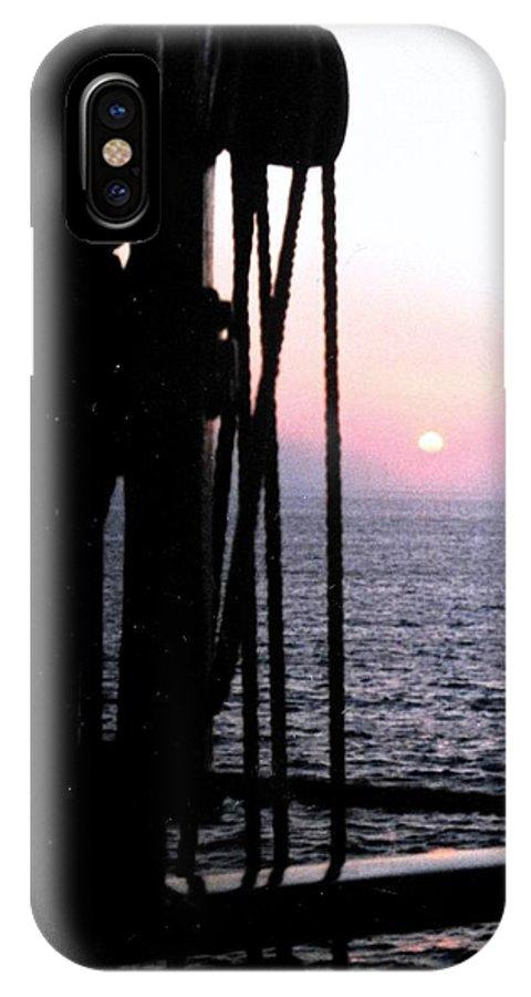 Ship IPhone Case featuring the photograph Sinking Sun by Ian MacDonald