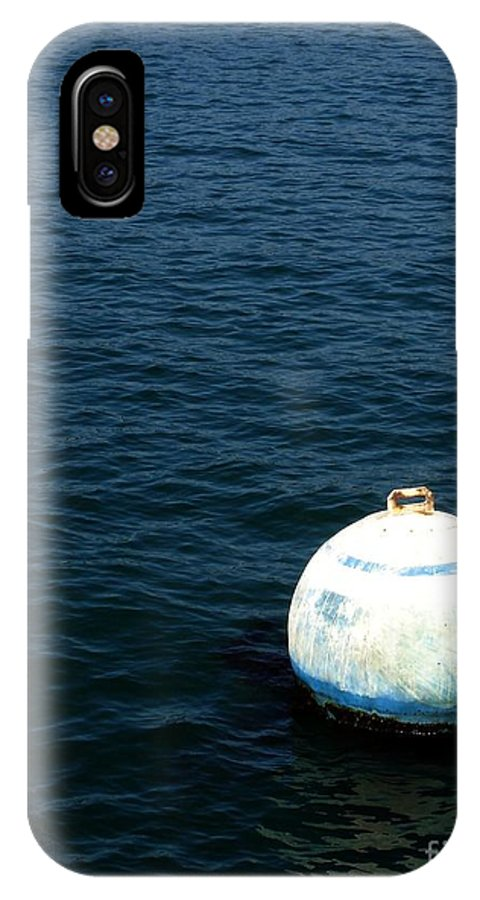 Seascape IPhone X Case featuring the photograph Sit And Bounce by Shelley Jones