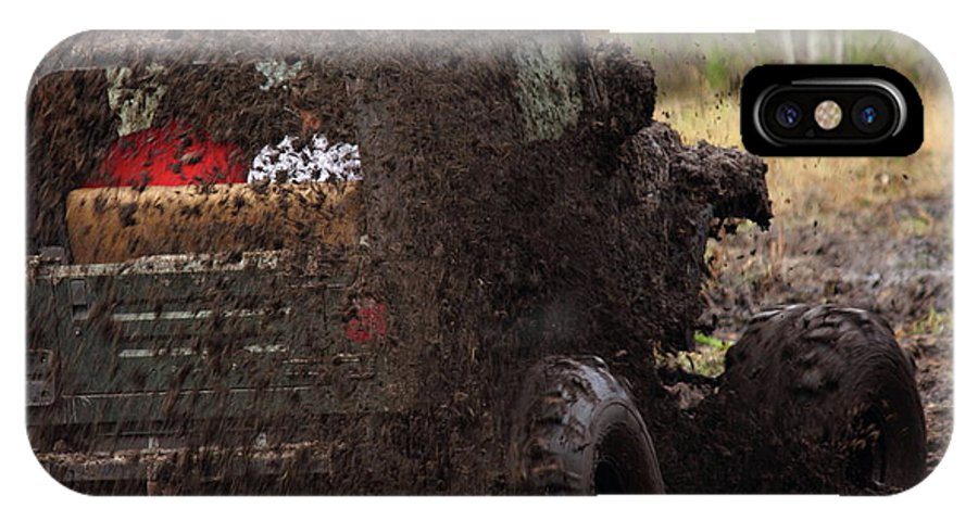 Jeep IPhone X Case featuring the photograph Sling by Jamie Smith
