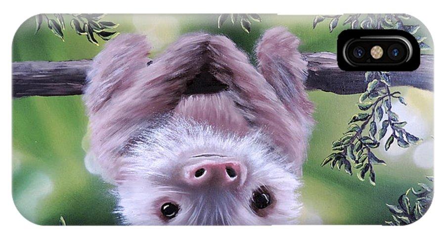 Sloth I♥yoga iPhone 11 case