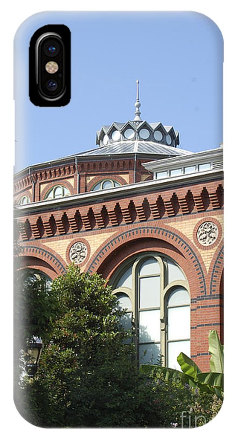 Smithsonian IPhone Case featuring the photograph Smithsonian Arches by Faith Harron Boudreau