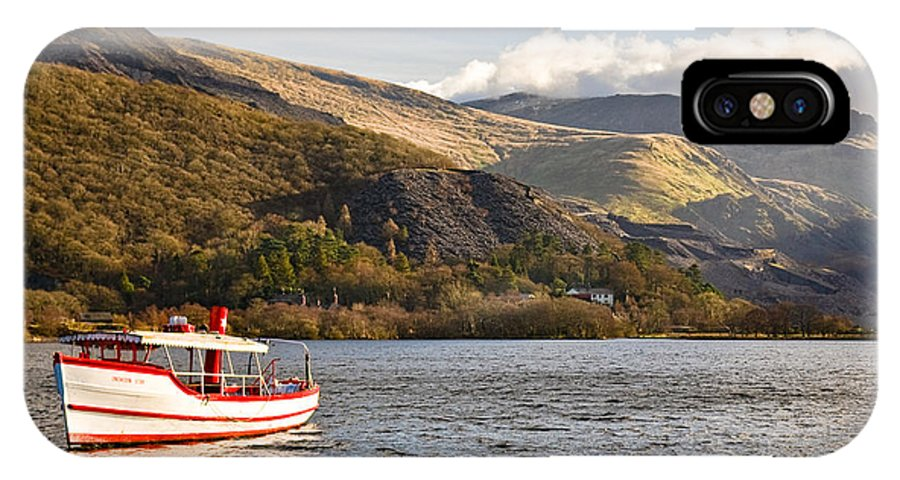 Snowdonia IPhone X Case featuring the photograph Snowdon Star by Dave Bowman