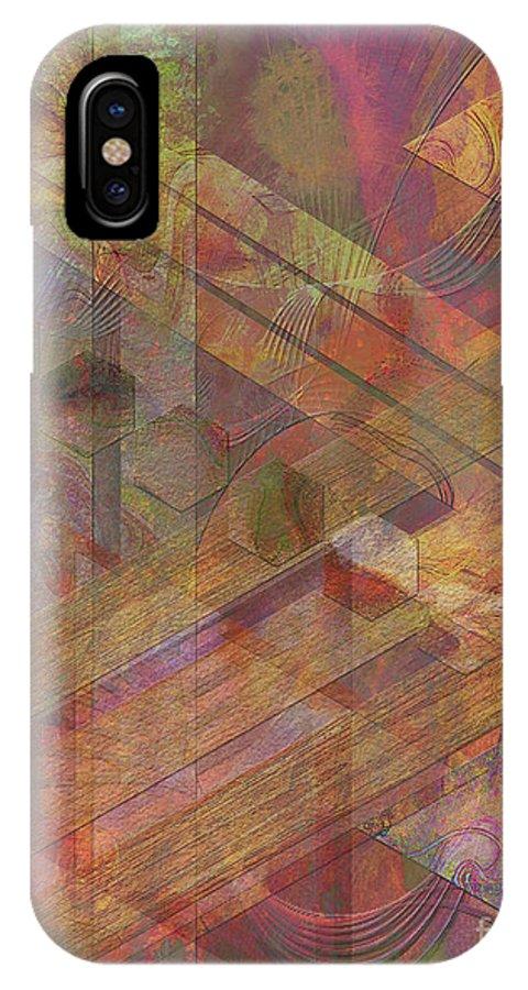 Soft Fantasia IPhone Case featuring the digital art Soft Fantasia by John Beck