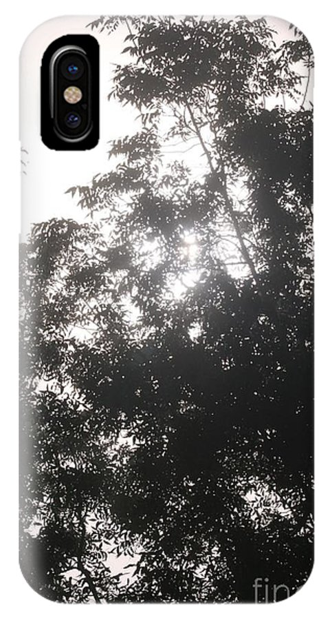 Light IPhone X Case featuring the photograph Soft Light by Nadine Rippelmeyer