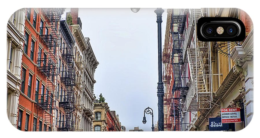 Soho IPhone X Case featuring the photograph Soho by June Marie Sobrito