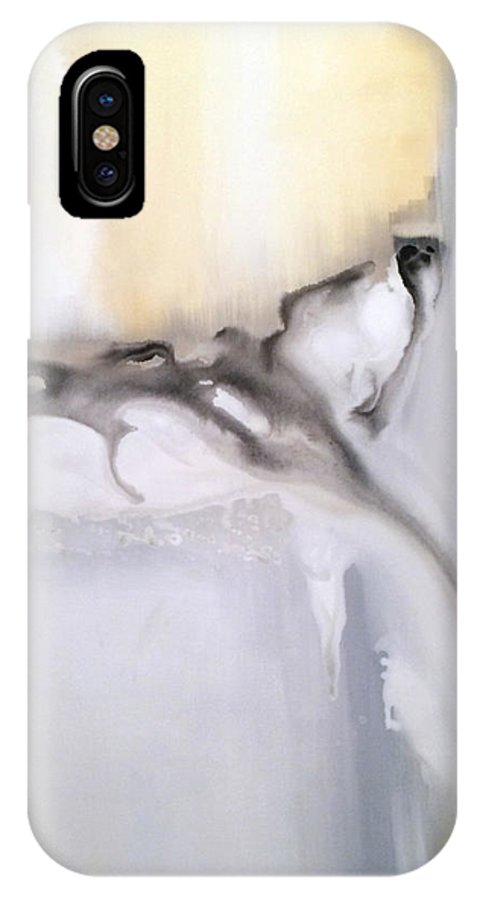 Modern Art IPhone X Case featuring the painting Soliloquy 2 by Jill English