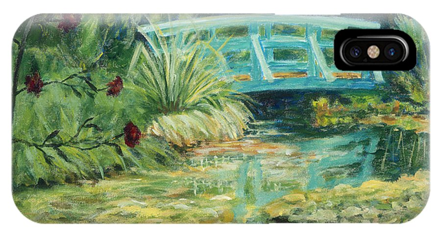 Impressionism IPhone Case featuring the painting Solitude by Tara Moorman