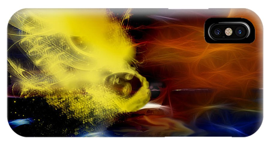 Fantasy IPhone X Case featuring the digital art Soul by Patricia Motley