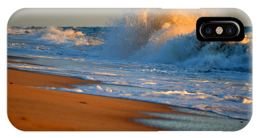 Ocean IPhone X Case featuring the photograph Sound Of The Surf by Dianne Cowen