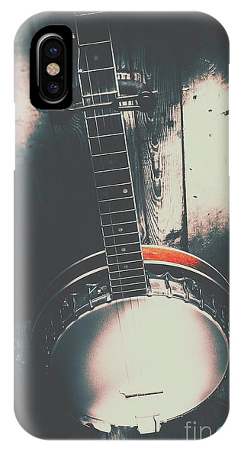 Musical IPhone X Case featuring the photograph Sound Of The West by Jorgo Photography - Wall Art Gallery
