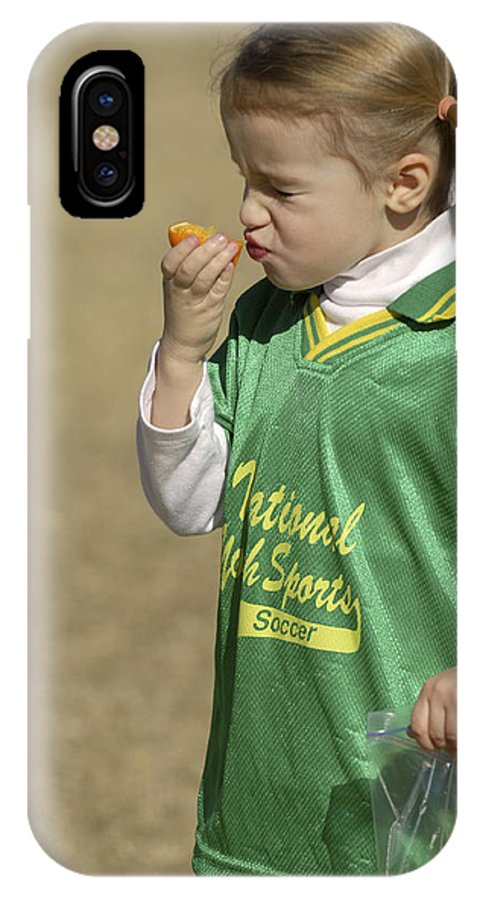 Food IPhone X Case featuring the photograph Sour by Jill Reger