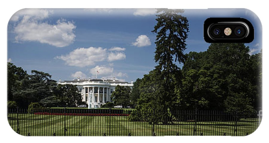 South Lawn IPhone X Case featuring the photograph South Lawn - White House by David Bearden