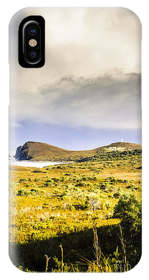 Rural IPhone X / XS Case featuring the photograph Southern Tip Of Bruny Island by Jorgo Photography - Wall Art Gallery