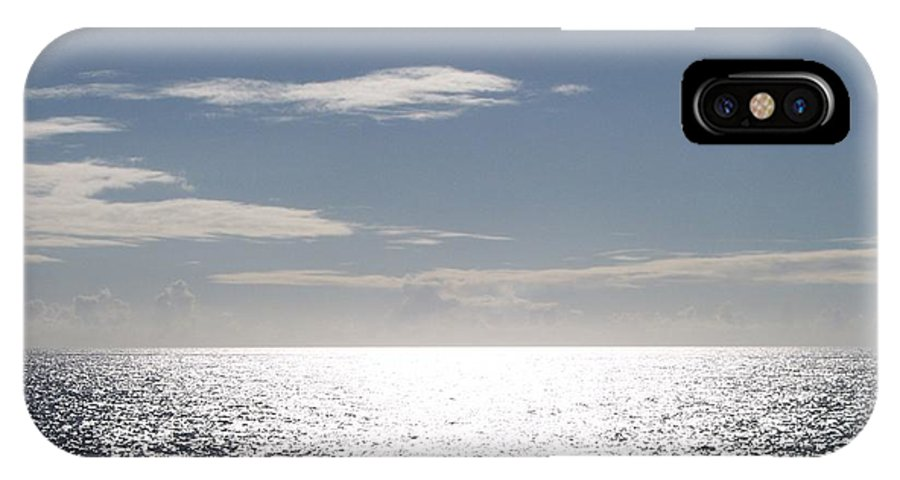 Ocean IPhone X Case featuring the photograph Sparkling Ocean by Michelle Miron-Rebbe