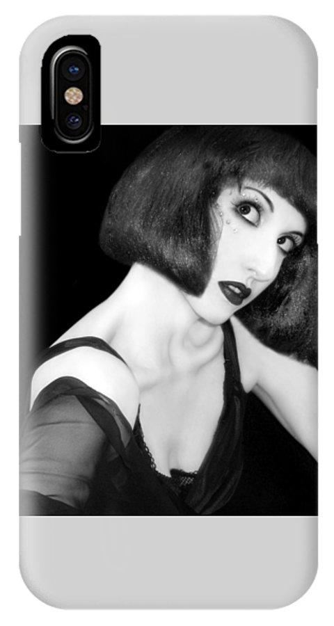 Beautiful IPhone X Case featuring the photograph Speak - Self Portrait by Jaeda DeWalt