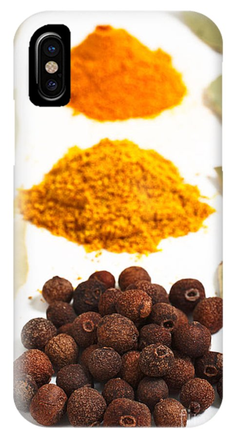 Curry IPhone Case featuring the photograph Spices by Gaspar Avila