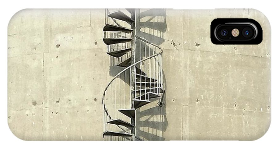 IPhone X Case featuring the photograph Spiral Staircase by Julie Gebhardt