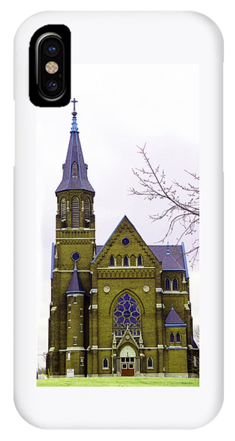 Spire IPhone Case featuring the photograph Spire by Albert Stewart
