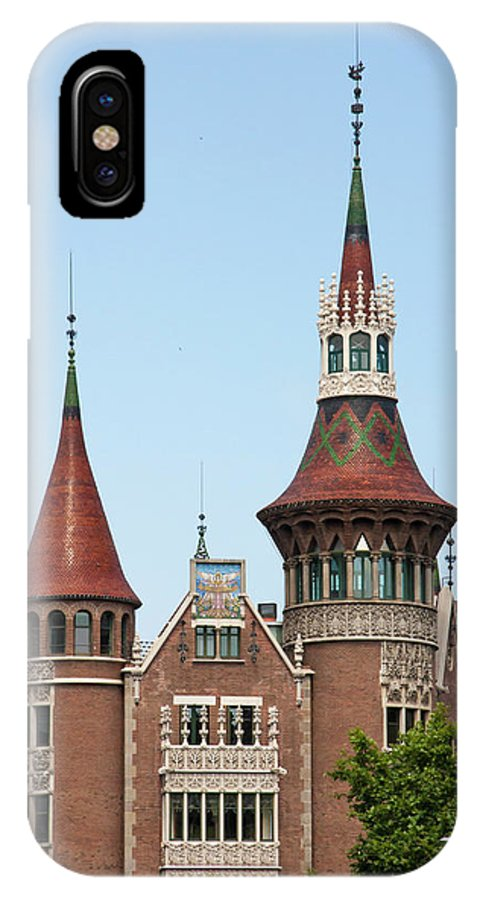 Barcelona IPhone X Case featuring the photograph Spired by Static Wanderer