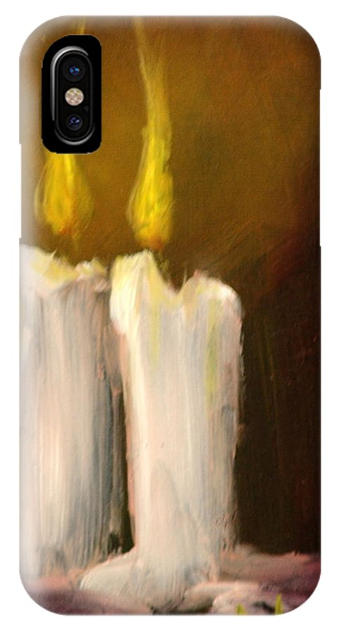 Light IPhone Case featuring the painting Spirits Bright by Sally Seago