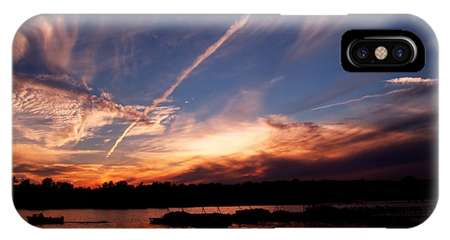 Sky IPhone X Case featuring the photograph Spirits In The Sky by Gaby Swanson