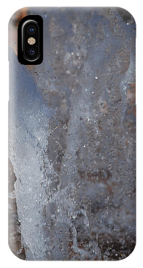 Water IPhone X Case featuring the photograph Splash by Rob Hans