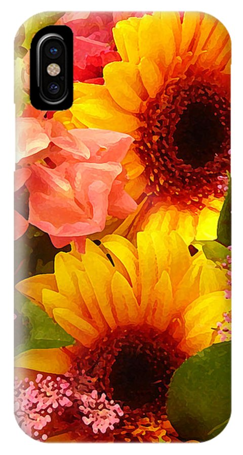 Roses IPhone Case featuring the photograph Spring Bouquet 1 by Amy Vangsgard