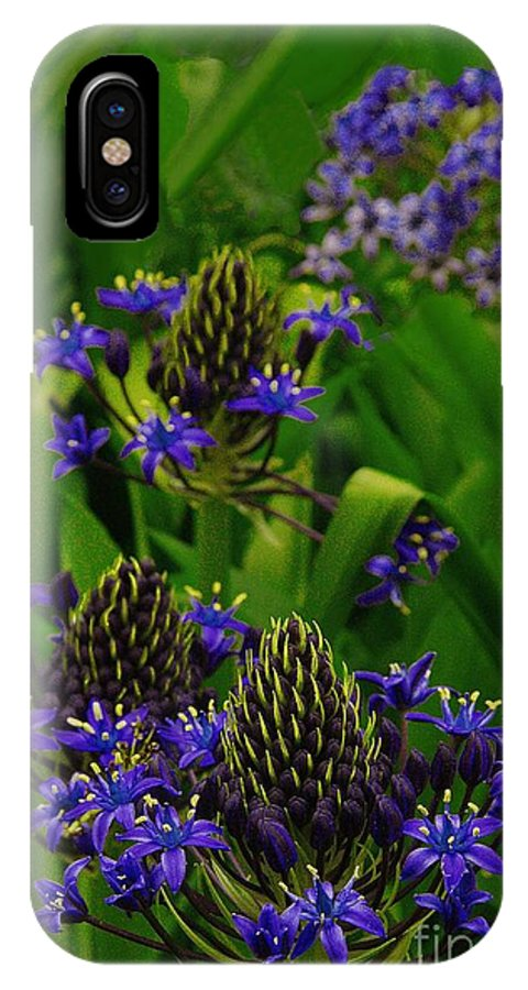 Early IPhone X Case featuring the photograph Spring Flowers by Viktor Savchenko