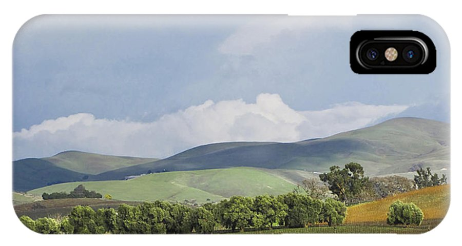 Landscape IPhone X Case featuring the photograph Spring In Livermore by Karen W Meyer