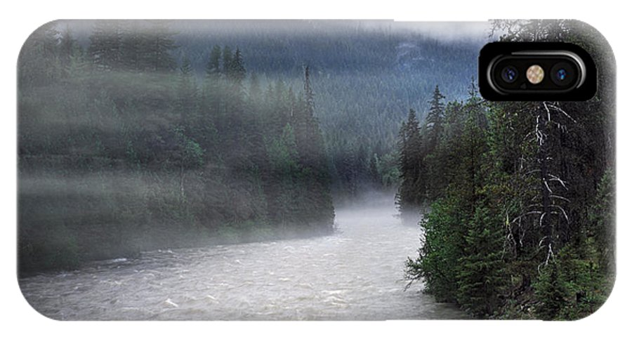Idaho IPhone X Case featuring the photograph Spring Rain by Leland D Howard