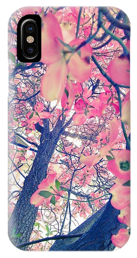 Flower IPhone X Case featuring the photograph Spring Tree by Delila Wysong