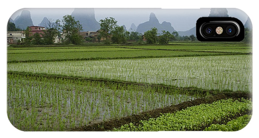 Asia IPhone X Case featuring the photograph Springtime In Guangxi by Michele Burgess
