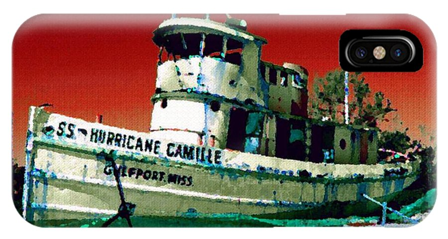 Ss Hurricane Camille IPhone X Case featuring the photograph S.s. Hurricane Camille - 3 by Debbie May