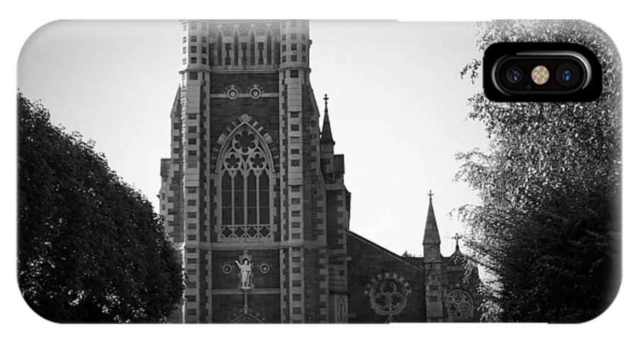 Irish IPhone X Case featuring the photograph St. John's Church Tralee Ireland by Teresa Mucha