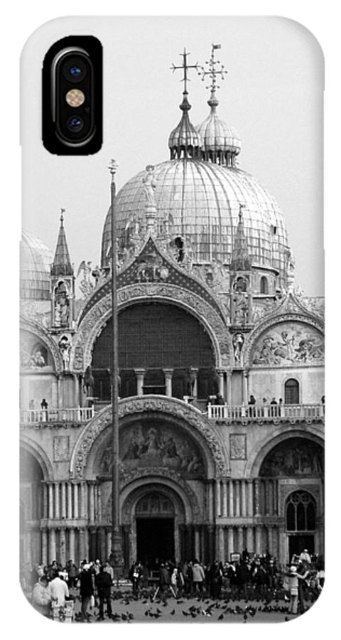 St. Marks IPhone X Case featuring the photograph St. Marks by Donna Corless