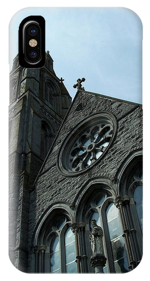 Ireland IPhone X Case featuring the photograph St. Mary's Of The Rosary Catholic Church by Teresa Mucha