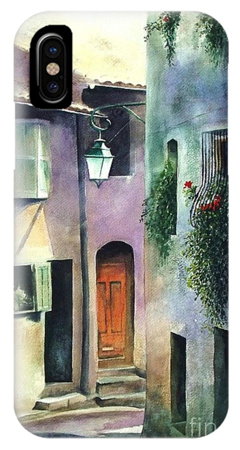 Provence IPhone Case featuring the painting St. Paul De Vence by Madeleine Holzberg