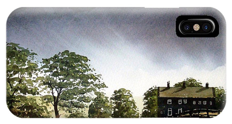 Landscape IPhone Case featuring the painting Stainland Dean by Paul Dene Marlor