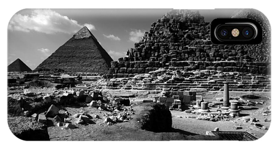 Pyramids IPhone Case featuring the photograph Stair Stepped Pyramids by Donna Corless