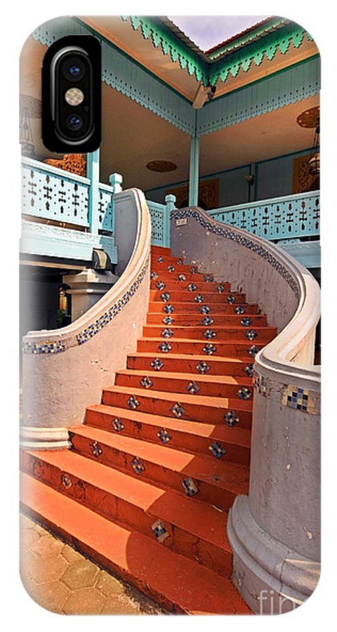 Stairs IPhone X Case featuring the photograph Stairs by Charuhas Images