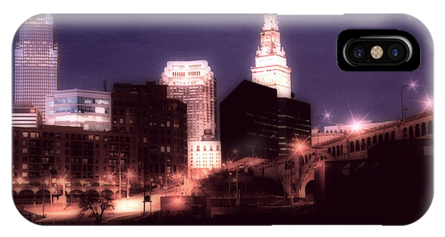 Cleveland IPhone Case featuring the photograph Standing Tall by Kenneth Krolikowski